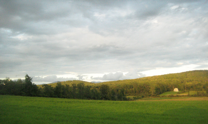 The clouds of Vermont